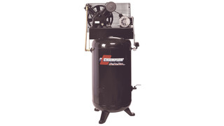 Splash-lubricated reciprocating air compressors