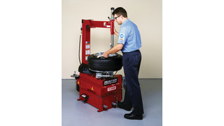 TC3000 Tire Changer with Enhanced Features