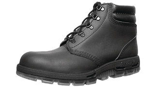 The Outback lace-up black leather boot