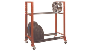 Tire Transport Trolley