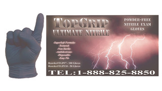 Top Grip Ultimate Nitrile gloves