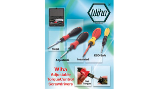 TorqueControl Screwdrivers Catalog