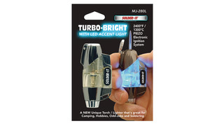 Turbo-Bright with LED Accent Light