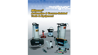 Updated Catalog of Auto and Vacuum-Related Products