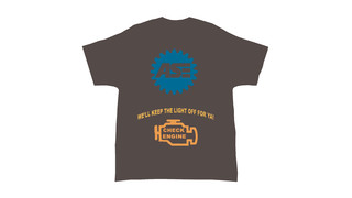 We'll keep the light off for ya! T-shirt