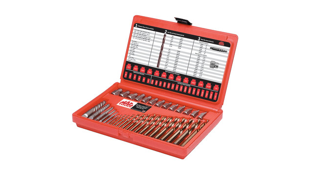 35-piece Master Extractor Set No. 35LHDES