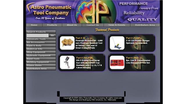 Astro Pneumatic Website