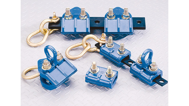 CL-Series Frame-Gripper Clamps and Draw Bar Assemblies