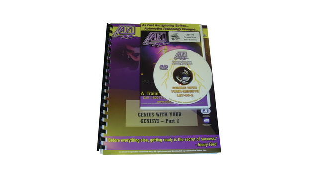 DVD-Power Training on Genisys