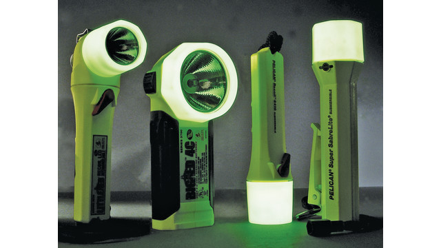 Glow-In-The-Dark Fire/Safety Flashlights