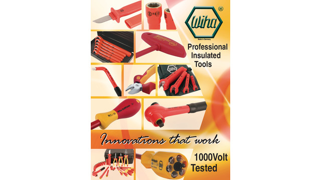 Insulated tools brochure
