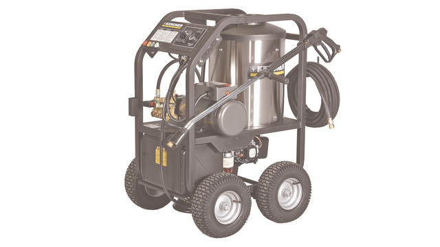 line of portable hot-water pressure washers