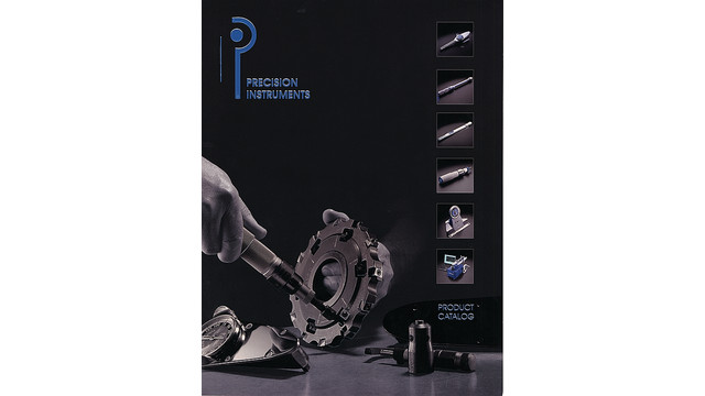 Precision Instruments Product Catalog