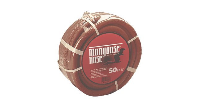Red Rubber Mongoose air hose