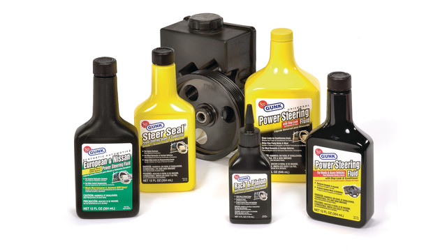 Solder-Seal Gunk line of power steering fluids and additives