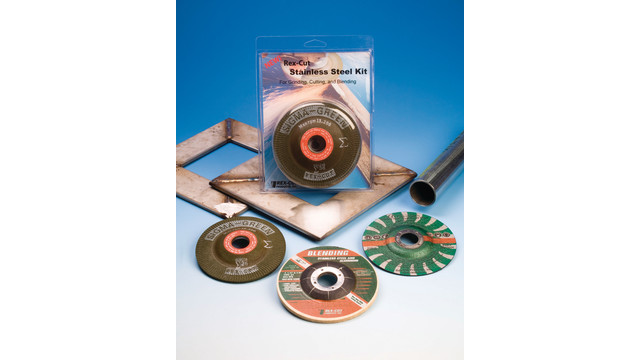 Stainless Steel Abrasive Kit