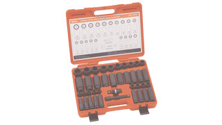 40 Piece Metric Master Impact Socket Set No. GS-440M