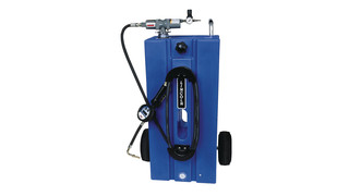 4481 Oil Rider Portable Tank with Pump and Meter
