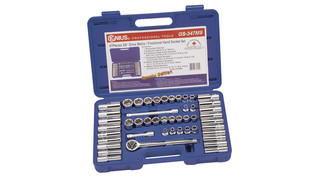 47-Piece 3/8 Deep Hand Socket Set
