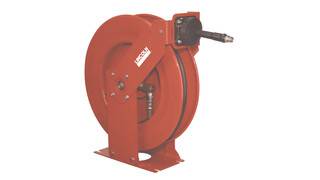 dual support heavy-duty hose reel