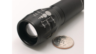 MicroLED flashlight