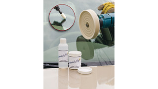 Scratch Magic windshield repair kit