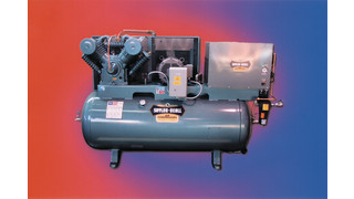 Tank- mounted compressors