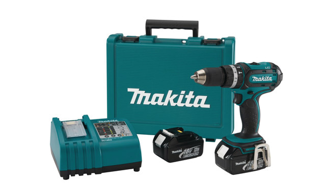 18V LXT Lithium-Ion Hammer Drive-Drill Kit, No. BHP452