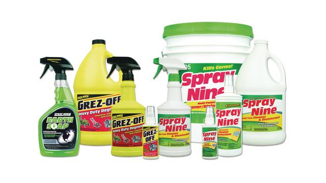 Spray Nine cleaners
