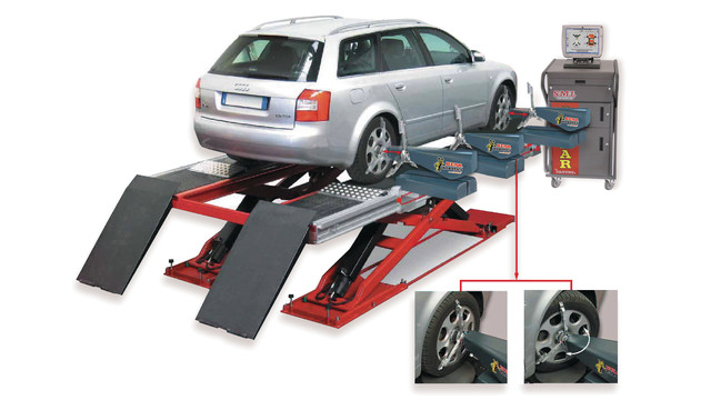 Wheel Alignment 7-minute System