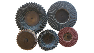2 and 3 mini flap discs