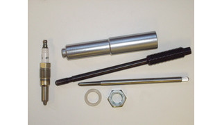 Ford spark plug extractor