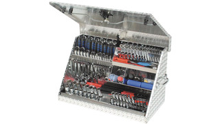 medium aluminum portable toolbox ME300AL