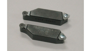 Quick-flip brake lathe tool holders