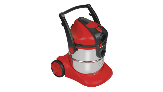 Stainless steel wet/dry vacuum cleaners