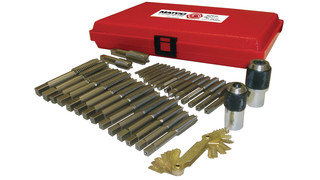 34 pc. Metric Tap Set, No. MTS34