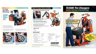 TC3500 tire changer brochure