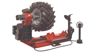 Line of COATS Heavy Duty Series tire changers