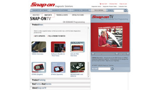 Snap-on TV
