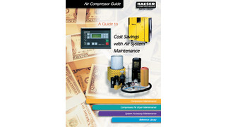 Updated Cost Savings with Compressed Air Systems Maintenance reference manual