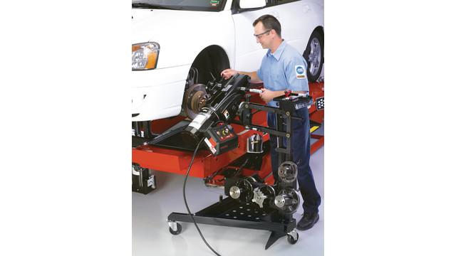 OCL410 and OCL430MD brake lathe update