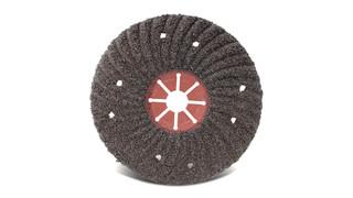 Aluminum oxide semi-flex discs