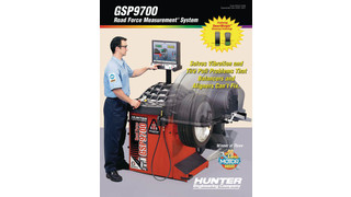 GSP9700 Road force Measurement System illustrated brochure