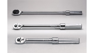1/4, 3/8, 1/2, 3/4 and 1 drive Click Type Torque Wrenches
