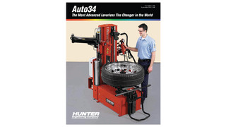 Auto34 Tire Changer Service brochure