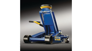 Blue Steel Swivel Handle Jack
