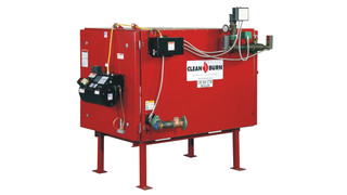 CB-500-CTB Used-Oil Coil Tube Boiler