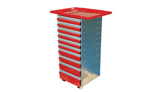 Aluminum Cabinet Tool Drawer Unit