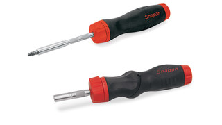 Ratcheting screwdrivers