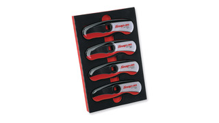 4-piece brake and fuel line wrench set, No. LW204